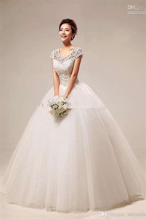sweet princess elegant net neck ball gown