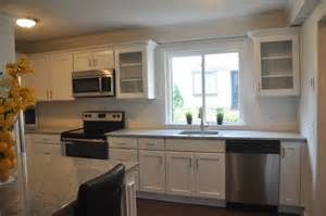 recessed lighting in kitchens ideas southbury merillat classic ralston overlay white