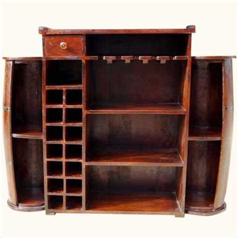 wine cabinet bar furniture furniture brown wooden built in bar cabinet with glass