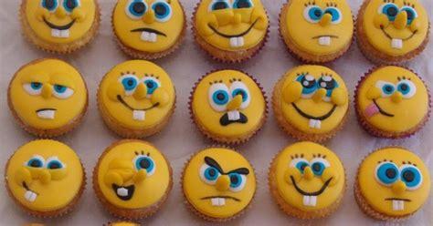 cupcakes cup spongebob squarepants faces cupcakes