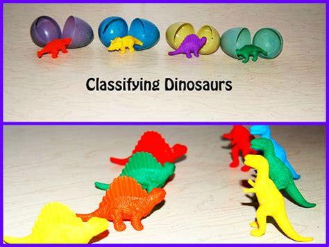 dinosaur theme for preschool hatching dino eggs early 278 | Dinosaur Classifying Activity