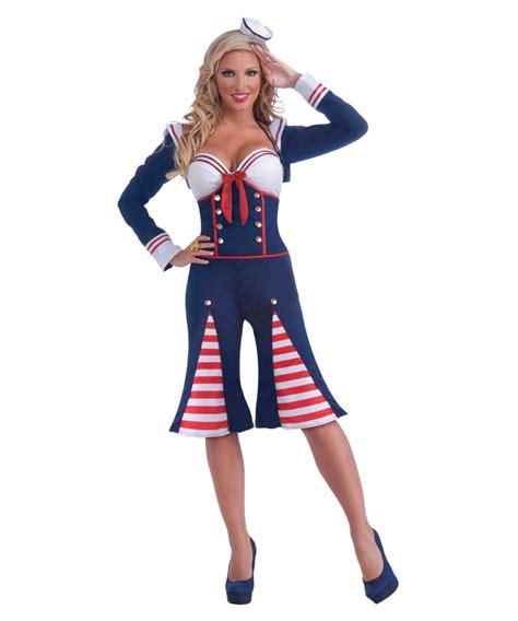 Nautical Millie Women Costume
