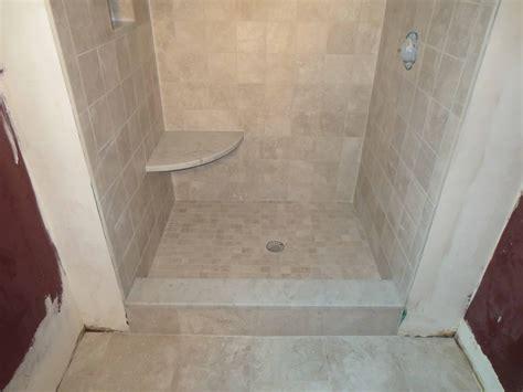 subway tile bathroom floor ideas complete tile shower install