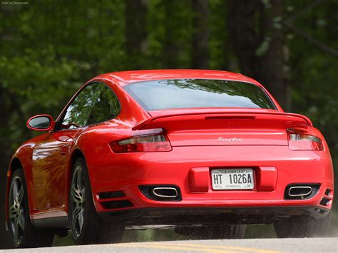 red porsche  turbo wallpapers