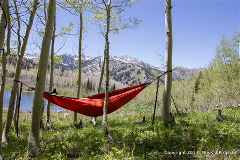 Eno Hammock Pictures by Gear Review Eno Nest Hammock With Profly The Kid
