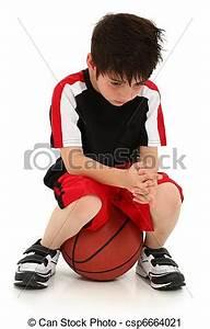 Stock Photography of Sad Boy Lost Basketball Game - Sad ...