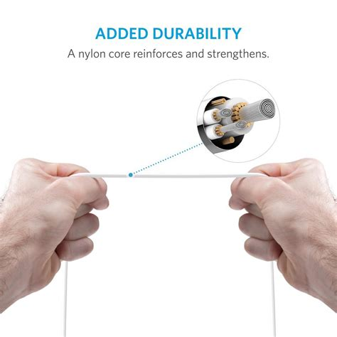 anker usb cable ft ft lightning  usb cable  ultra