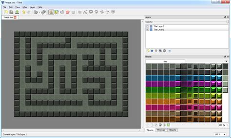 Tiled Map Editor Collision by Tiled Map Editor Collision Detection Support