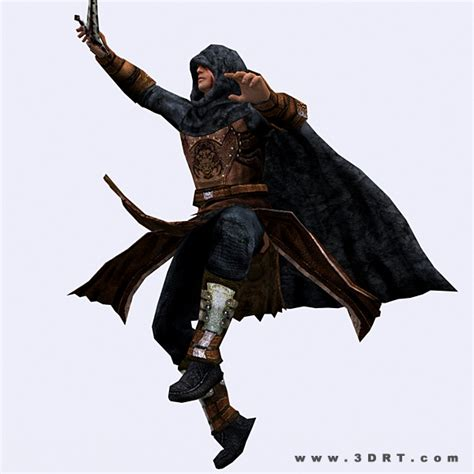 fantasy thief character