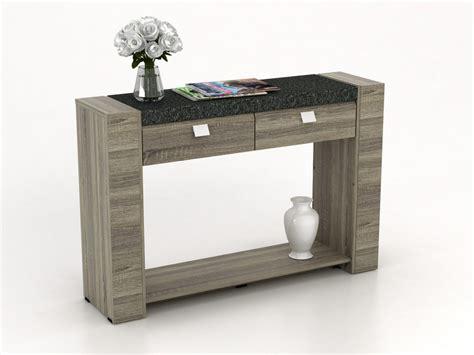 bureau console extensible 2 en 1 console le meuble console à prix discount