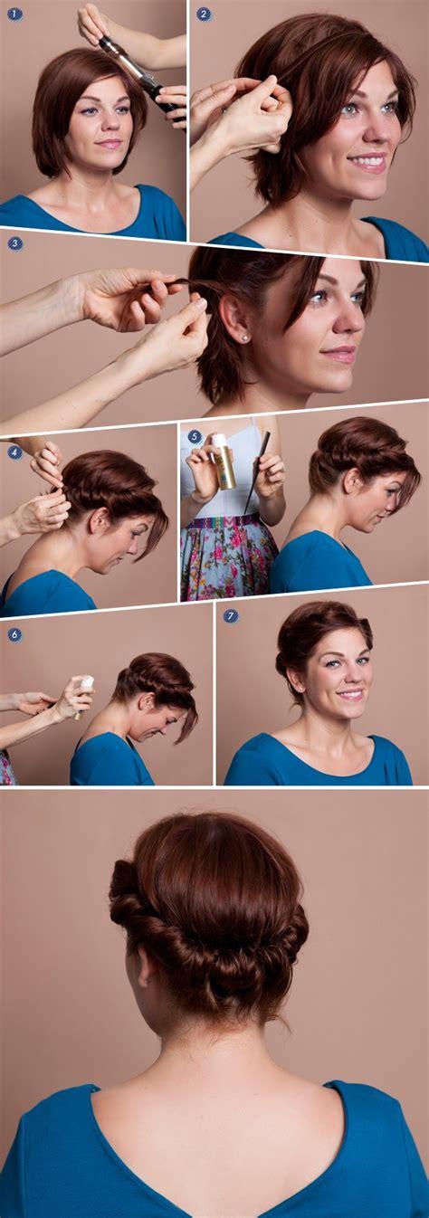 coiffure carre headband
