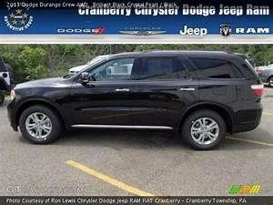 Brilliant Black Crystal Pearl - 2013 Dodge Durango Crew Awd