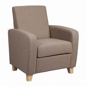 Petit Fauteuil Design : fauteuils design canap s et convertibles petit fauteuil seated tissu beige inside75 ~ Teatrodelosmanantiales.com Idées de Décoration