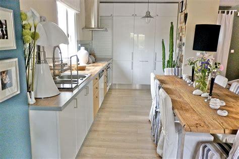 deco cuisine blanc et bois déco cuisine blanc et bois