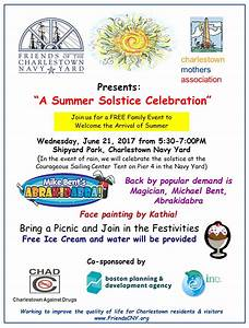 2017 Summer Solstice Celebration - Friends of the ...