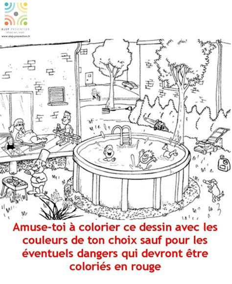 la vie siege social coloriage dangers jardin alep prévention alep prevention