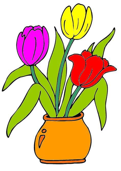 pot de fleur pot de fleur en dessin