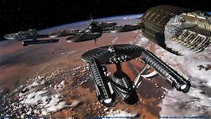 Cut Away Federation Space Station - Pics about space