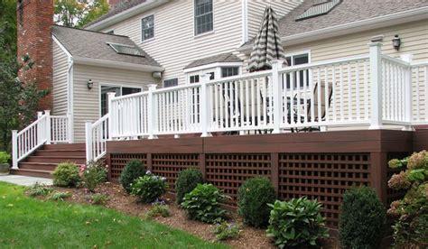 lattice under deck outside pinterest deck skirting