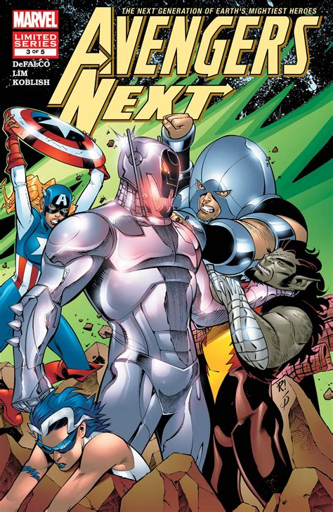 Avengers Next (2006) #3 | Comic Issues | Marvel