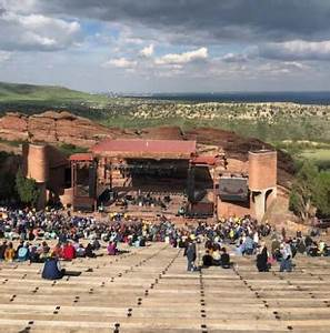 Red Rocks Reserved Seating Chart Red Rocks Amphitheatre Seating Chart Seat Guide Tickpick