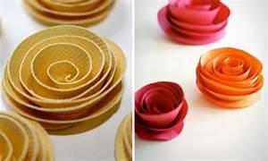 Rosen Aus Papier : leichte diy party dekoration aus papier festlich und niedlich ~ Frokenaadalensverden.com Haus und Dekorationen
