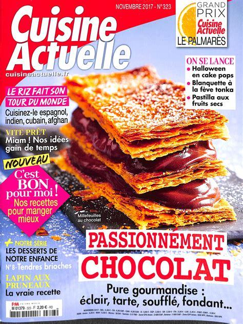 abonnement cuisine actuelle abonnement cuisine actuelle intermagazines