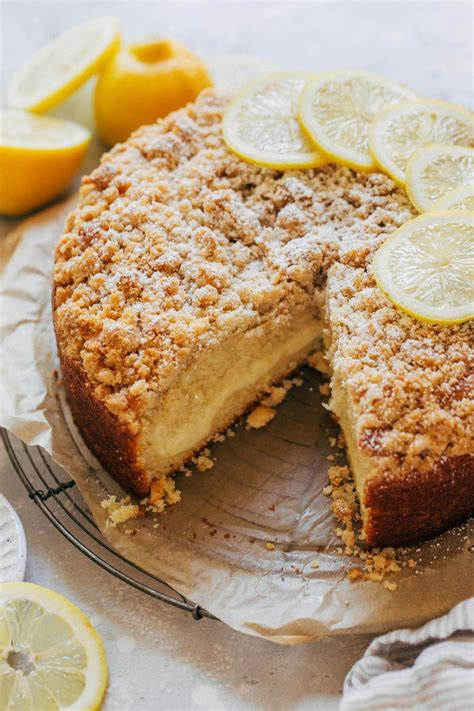 Find out why this lemon cream cheese coffee cake is a real crowd pleaser! Lemon Coffee Cake with Lemon Cream Cheese Filling ...