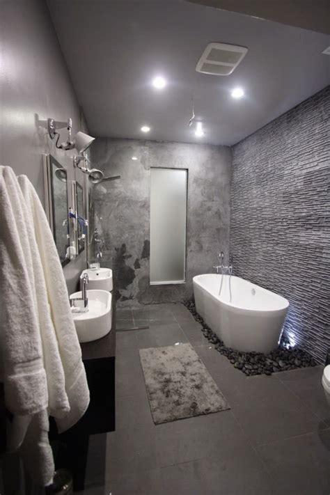 gray bathroom designs 20 idee di arredamento bagno in grigio mondodesign it