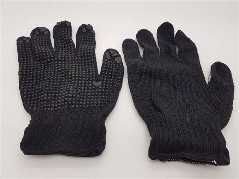 jual sarung tangan hitam bintik untuk keperluan industri