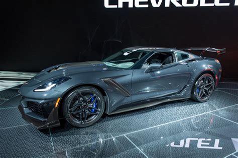 2019 Corvette Zr1 Pictures Live From Los Angeles Auto Show