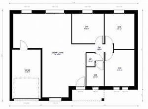 Plan Maison Individuelle 3 Chambres 09 Habitat Concept