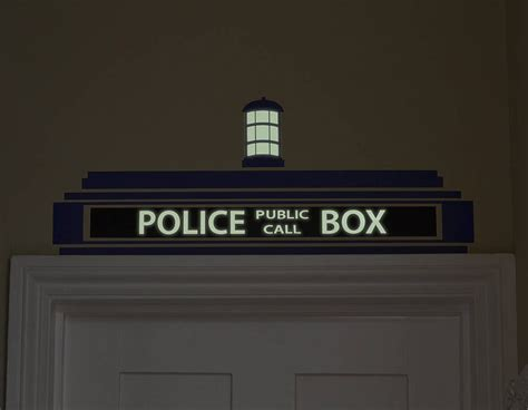 police box wall sticker contemporary wall stickers
