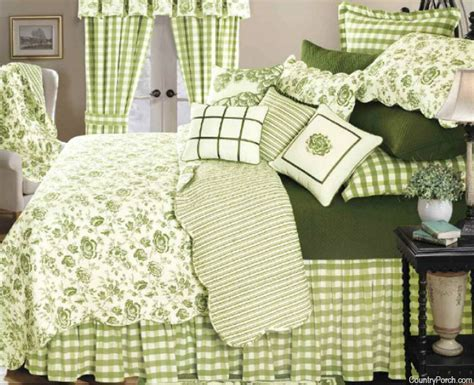 Devon Moss Quilt & Bedding by C&F Enterprises