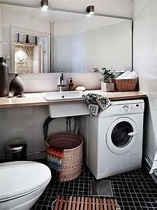 Machine à Laver Petite : comment int grer le lave linge dans son int rieur 31 id es ~ Melissatoandfro.com Idées de Décoration