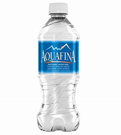 Bottle Water Aquafina Transparent Ice Drink Clipart