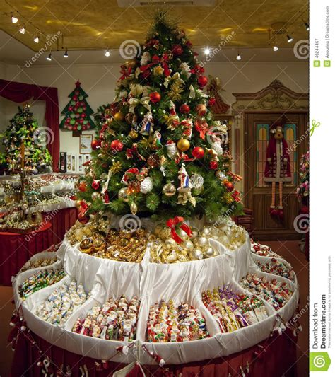 shop  christmas decorations stock image image