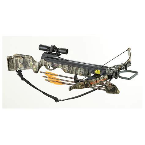 Arrow Precision™ Wildfire Crossbow Kit, Camo 201895