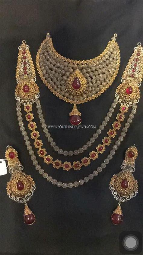 Bridal Diamond Jewellery Set  South India Jewels. Blood Rings. 6 Carat Engagement Rings. Wave Rings. Redesigned Engagement Rings. Bow Rings. Center Stone Round Engagement Rings. 1 4 Carat Engagement Rings. Bubbly Wedding Rings