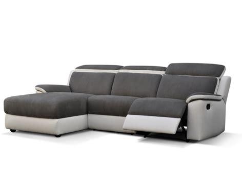 canap relax blanc canapé d 39 angle relax gris et blanc ou noir et blanc souffle