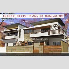 Duplex House Plans In Bangalore On 20x30 30x40 40x60 50x80