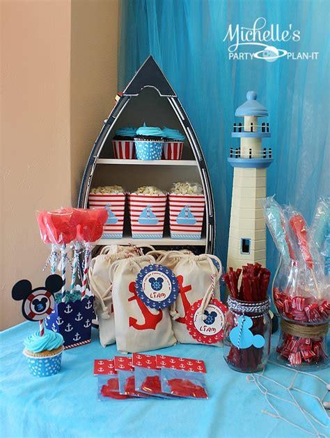 20 Creative Nautical Parties  Celebrate & Decorate