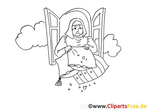 Kleurplaat Vrouw Holle by Holle Clipart Clipground