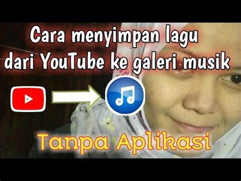 Tutorial cara menambahkan audio atau lagu di html dapat dilakukan dengan menggunakan elemen audio. Cara menyimpan lagu dari Youtube ke play musik/galeri musik by Nur Aisyah Hardiyanti - YouTube