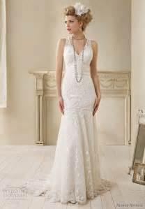 alfred angelo modern vintage bridal sleeveless wedding dress polyvore - Modern Vintage Wedding Dresses