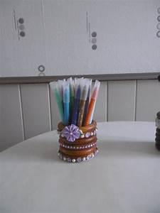 Anneaux Rideaux à Clipser : un pot avec des anneaux de rideaux en bois les p 39 tites ~ Premium-room.com Idées de Décoration