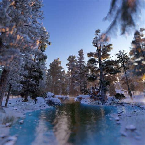 Forest scene   CGTrader