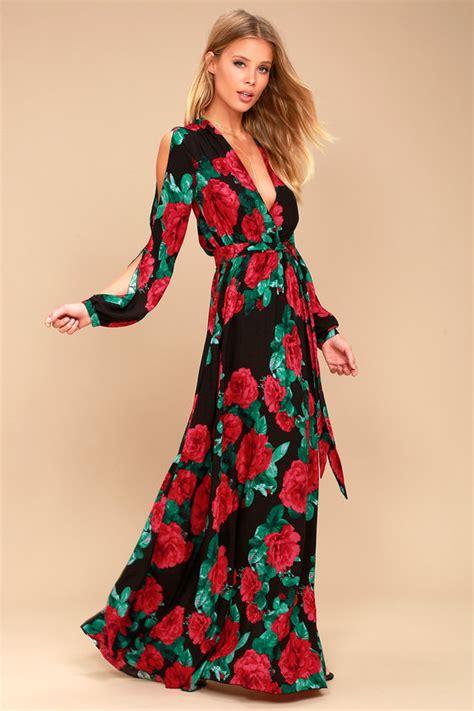 floral print tie waist midi skirt lovely black floral print maxi sleeve maxi dress