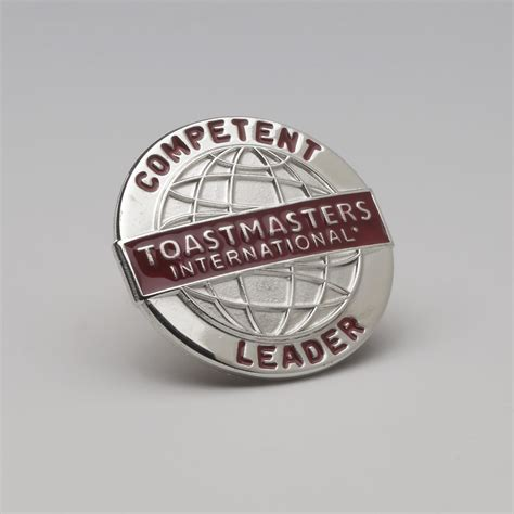 competent leader pin