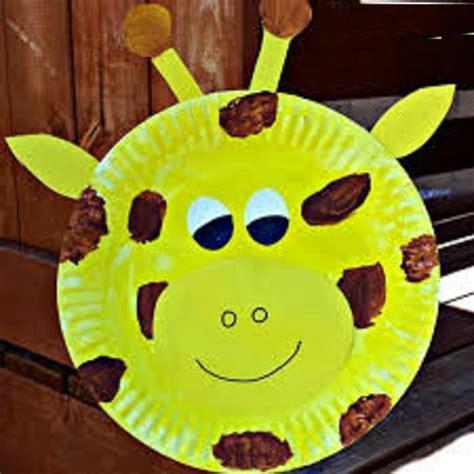 giraffe crafts idea  preschool preschool